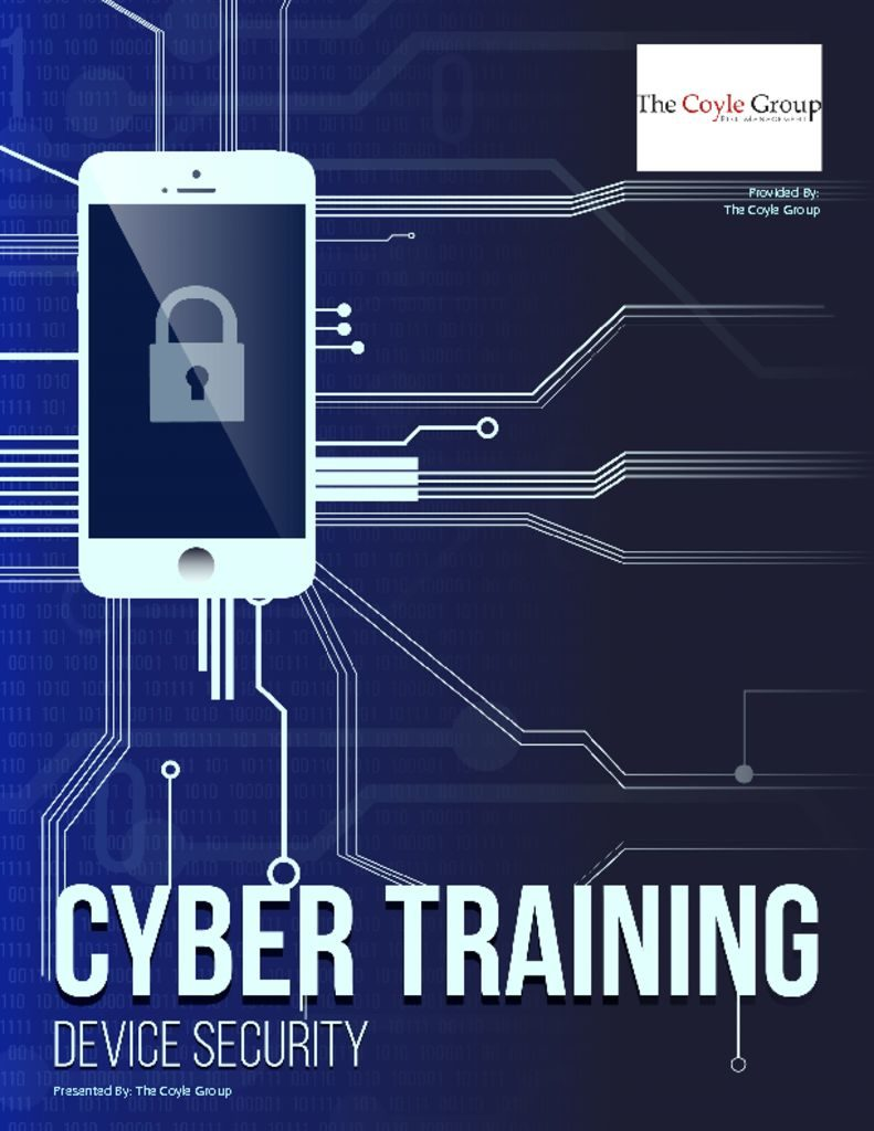 Cyber Employee Training – DEVICES